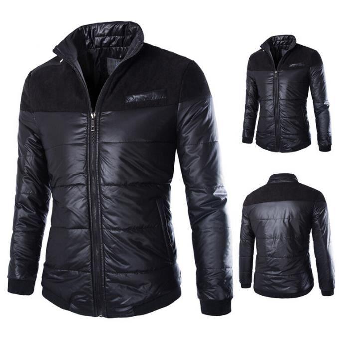 Surprise Manteau Pour Blouson Pied Noir Col De L'hiver Homme TOaATrwq