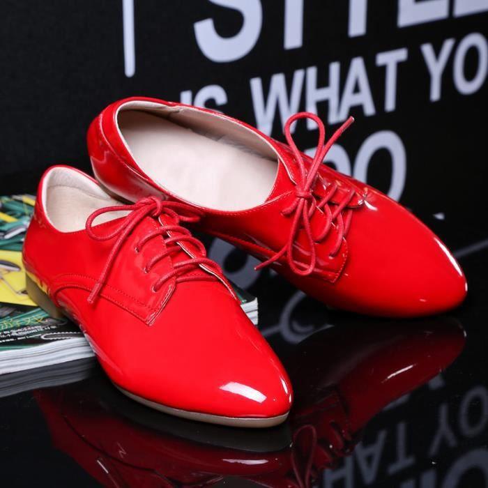 richelieu-Pure Color Low heel Richelieu Women R... aPo15O