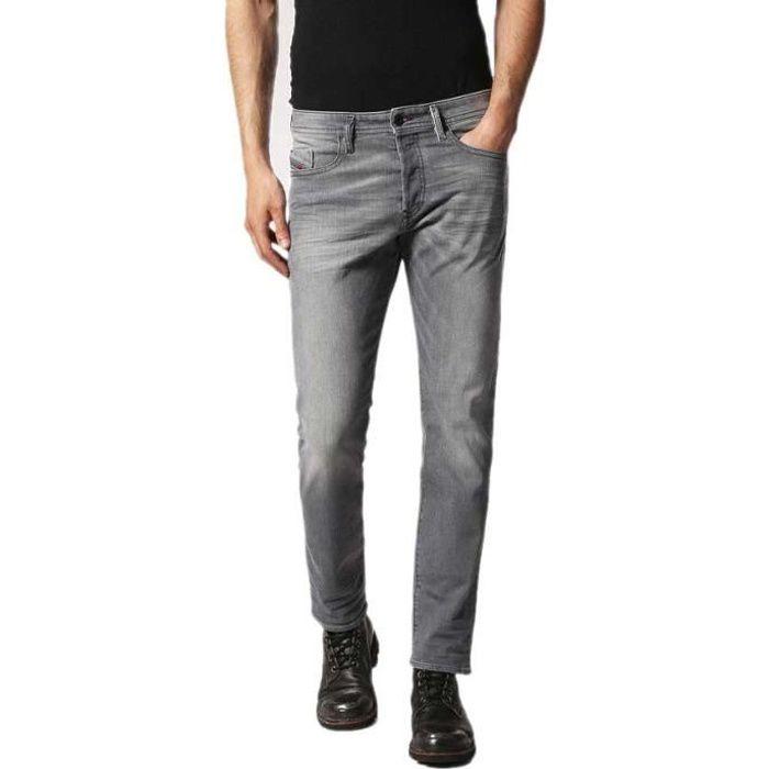 552e6822f6af Vêtements homme Jeans Diesel Buster 4c 084hp L32 Gris Gris - Achat ...