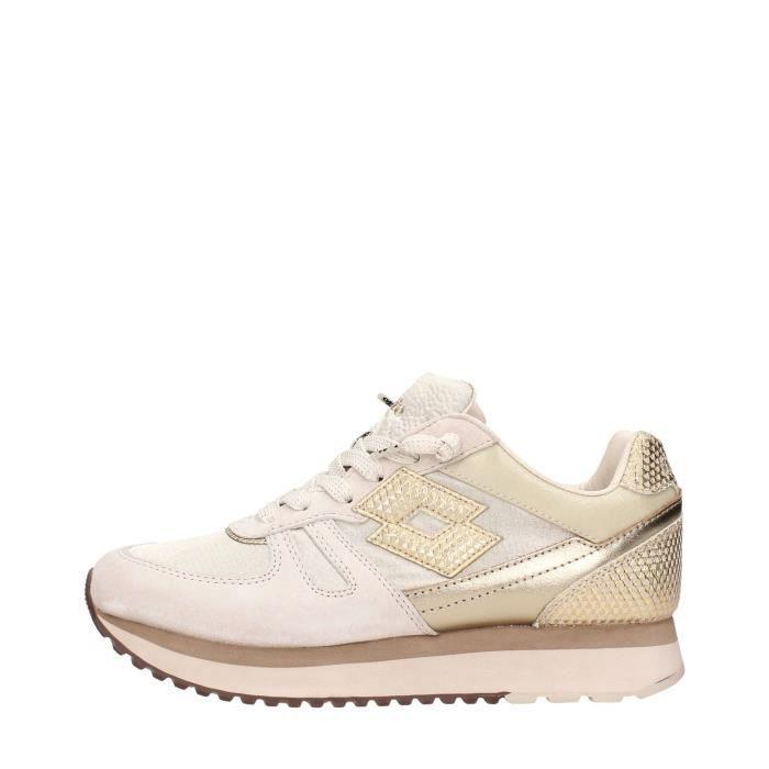 Lotto Leggenda Sneakers Femme Or, 37
