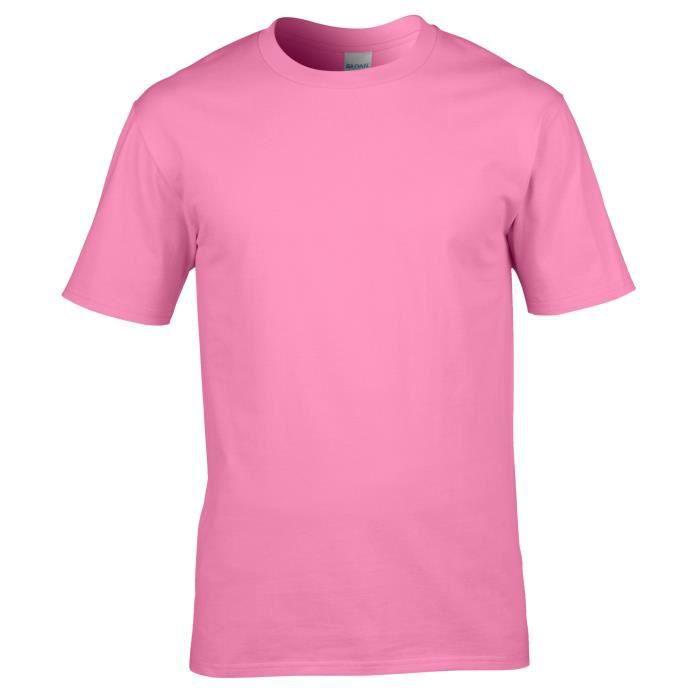 T-shirt à manches courtes Gildan pour homme Violet Azalée - Achat ... 7864522d299e