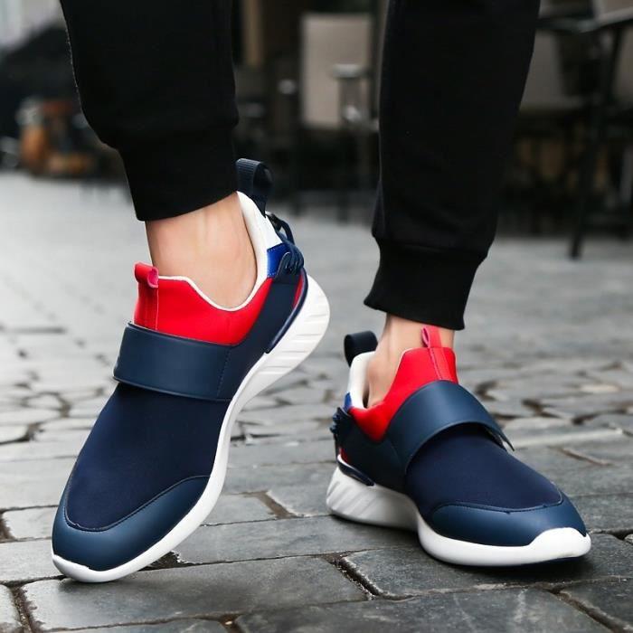 chaussures multisport Homme de sport étudiantrésistance à l'usure bleu taille7