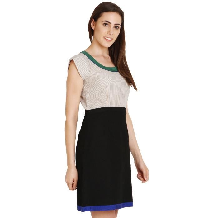 Cotton Shift Femmes Robe ZE1RM Taille-36