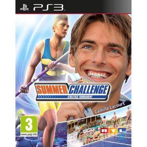 JEU PS3 SUMMER CHALLENGE / Jeu console PS3