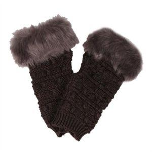 GANTS DE CUISINE Femmes gants de fourrure de papillon gants tricoté. ‹› 8f3352b1ed