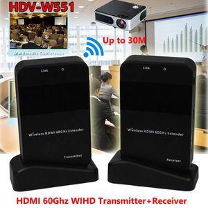 EMETTEUR 3D Le prolongateur HDMI 4K 1080p sans fil livrent le
