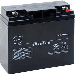 BATTERIE DOMOTIQUE NX - Batterie plomb AGM S 12V-18Ah FR 12V 18Ah …
