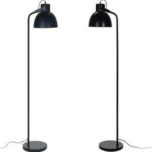 LAMPADAIRE Lampadaire en métal - noir, mat, 170 cm de haut, c