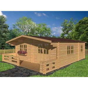 chalet en bois habitable achat vente chalet en bois habitable pas cher cdiscount. Black Bedroom Furniture Sets. Home Design Ideas