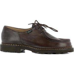 DERBY PARABOOT HOMME 715612CAFE MARRON CUIR BOTTINES