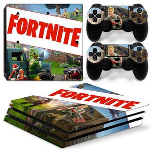 STICKER - SKIN CONSOLE PS4 Pro Fortnite Battle Royale Housse d'autocollan