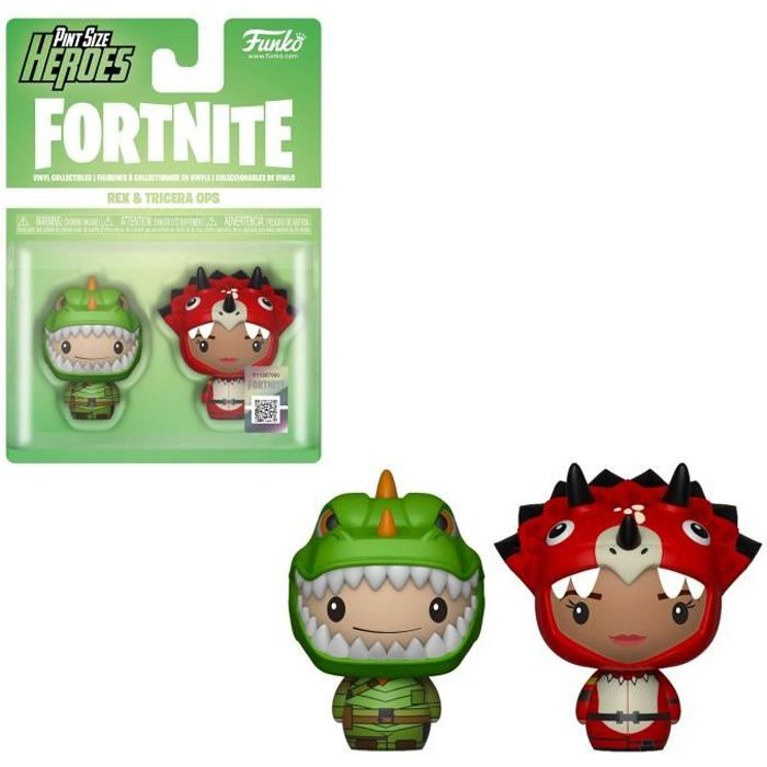 Figurine Funko ! Fortnite - Rex & Tricera Ops