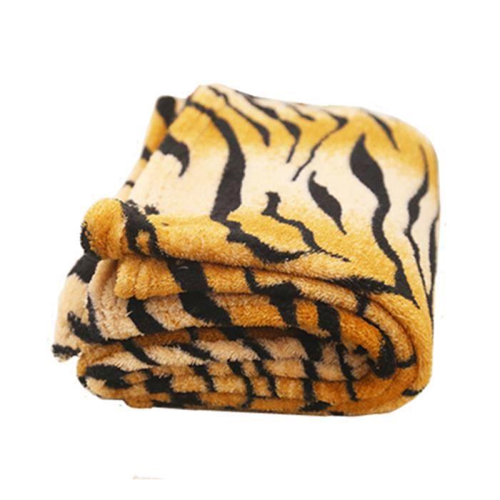 Couverture Pour Chien Tiger Pattern Flanelle L
