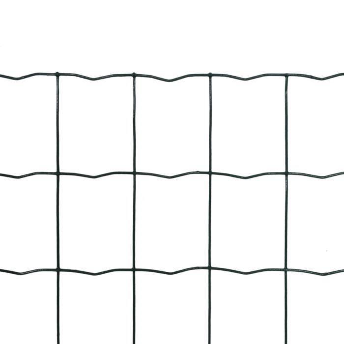 CLÔTURE - GRILLAGE Clotures en grillage Grillage 10 x 1,8 m avec mail