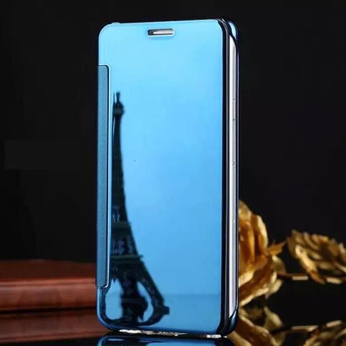 coque telephone samsung s7 bleu