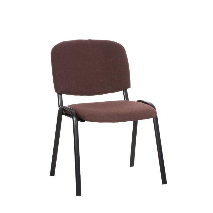 Cm Clp Marron Visiteurs KenCoût Confortable83 AbordableRobusteStructure Très Empilable Chaise De Souple Et rWdBCxoe