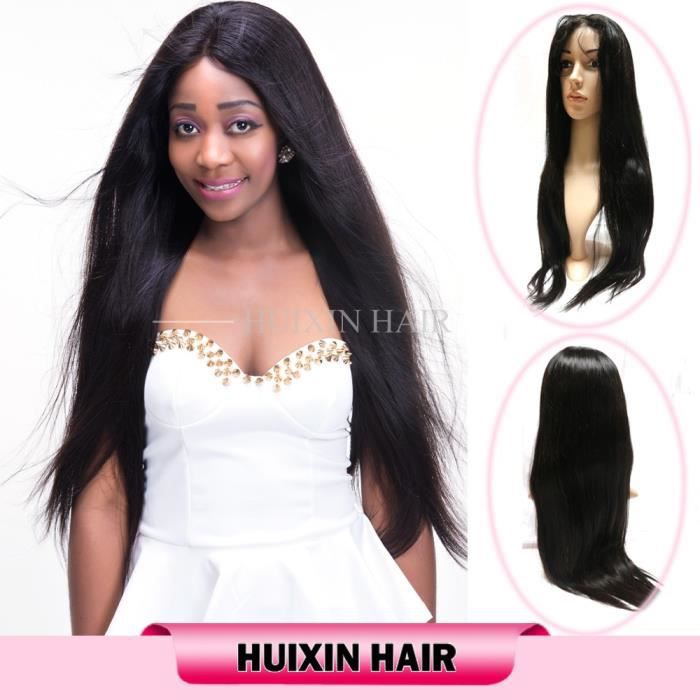 Perruque Naturelle Cheveux Bresilienne Full