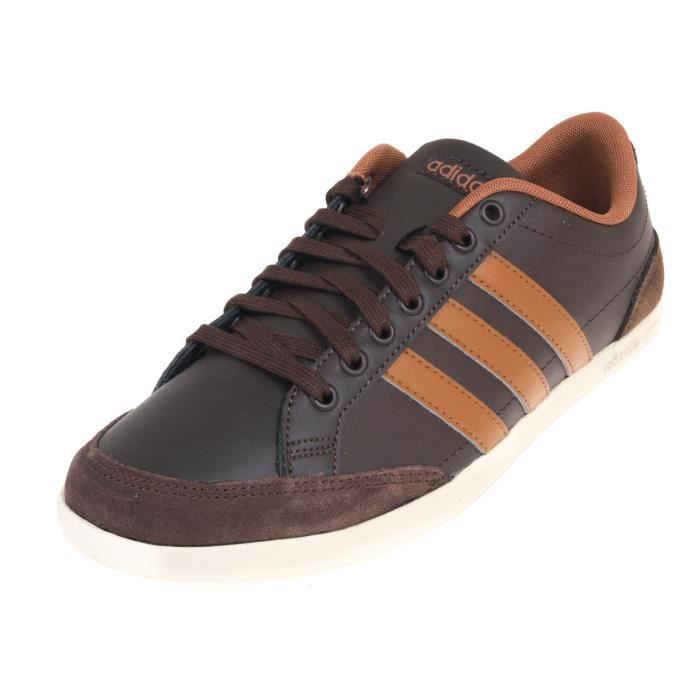 Cuir Caflaire Chaussures Ou Basses Simili Marron Ifmv76Ygby
