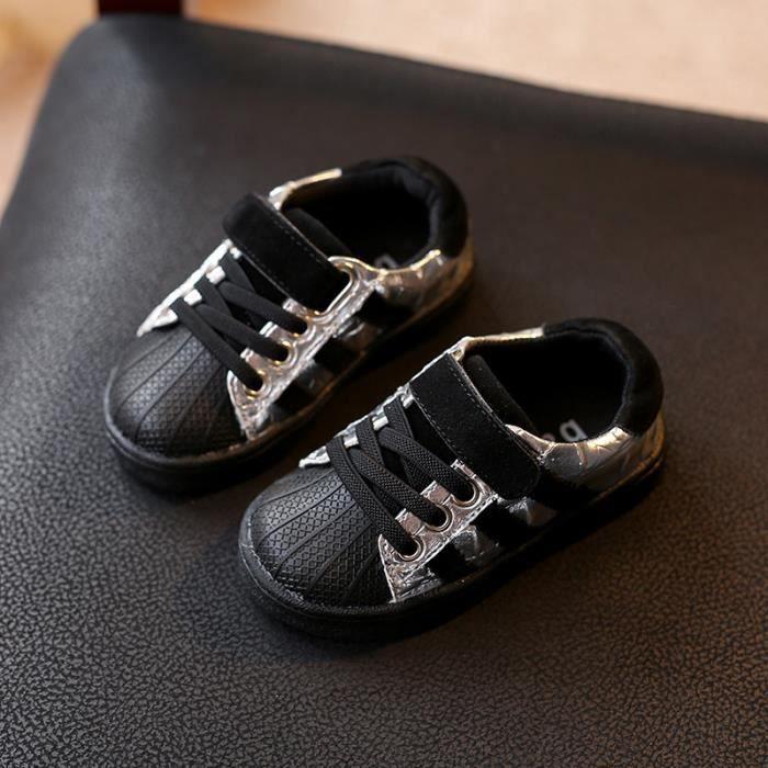 Paillettes Bébé Baskets Chaussures Filles Enfants Garçon 0OmNnv8w