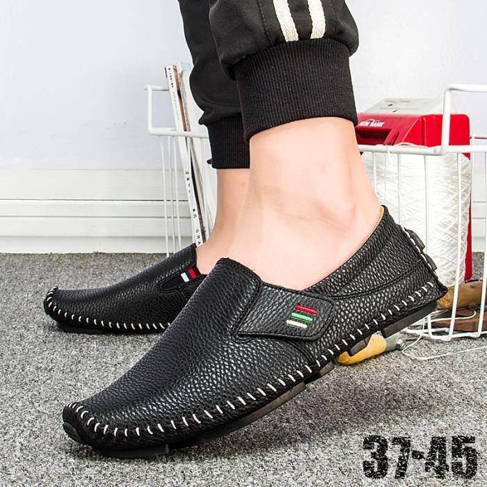 simple simples d'homme sport plates confortables Design Driving Chaussures de chaussures Mocassins vxw5xq8Hz