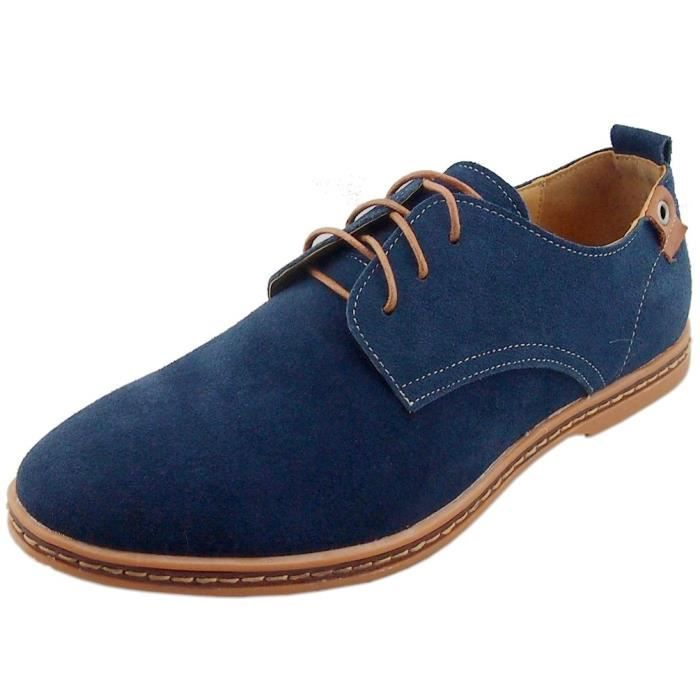 Cuir Oxford chaussures B9NW7 Taille-42 1-2