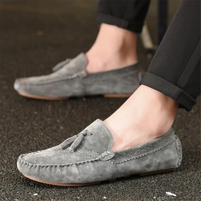 Souliers Hommes Marque De Luxe Antidérapant Chaussures Classique Plus Taille 38-44