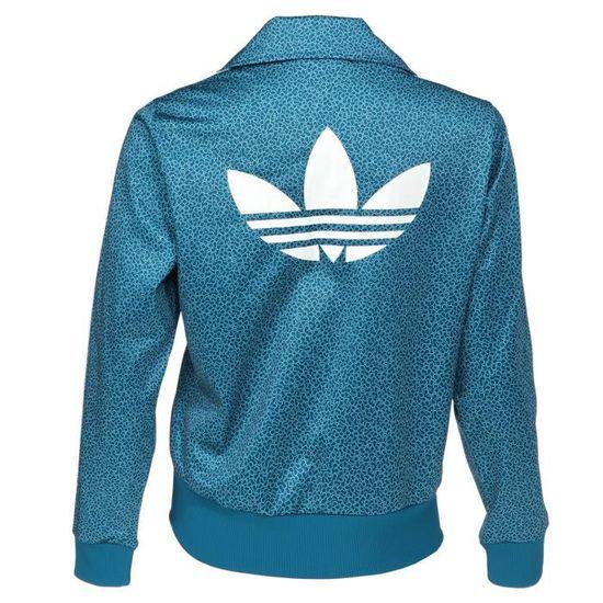 adidas Firebird TT 2.0 W veste bleu chiné
