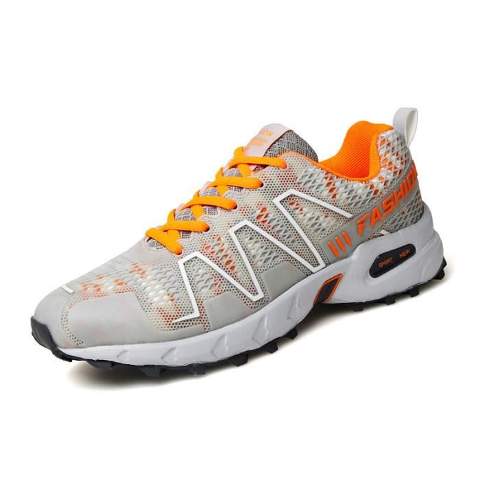 Chaussures de course à chaussures en plein air chaussures de sport respirantes anti-usure hors routecourse (44 yards)