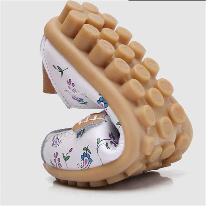 Mocassin Femmes Cuir Talon plat Classique Chaussure BCHT-XZ046Rose37 Nh7qoLtJ
