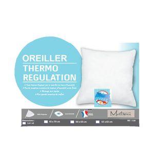OREILLER Oreiller Ferme Thermorégulation 60x60 - MORTREUX