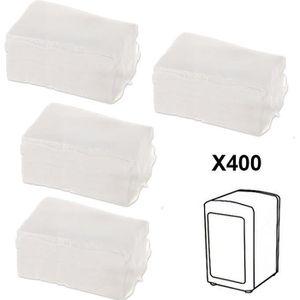 PORTE SERVIETTES  Recharge 400 Serviettes en papier pour distributeu