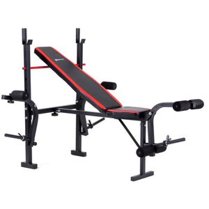 BANC DE MUSCULATION Station de musculation HS-1055 Hop-Sport multifonc