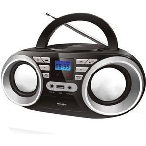 RADIO CD CASSETTE INOVALLEY R102/2 Boom box - 2x5 W - CD / FM / MP3