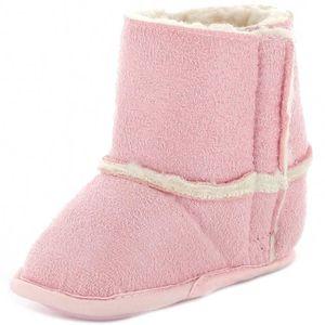 BOTTINE Botillon fourré bébé fille rose