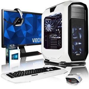 UNITÉ CENTRALE + ÉCRAN VIBOX Rapture L760-533 PC Gamer Ordinateur avec Je