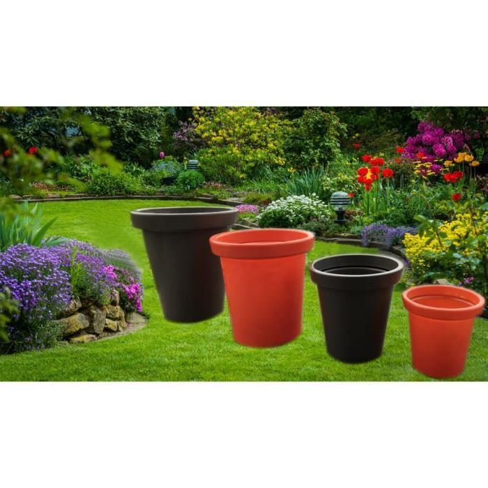 Pot de fleurs Delight - 200 L - Taupe
