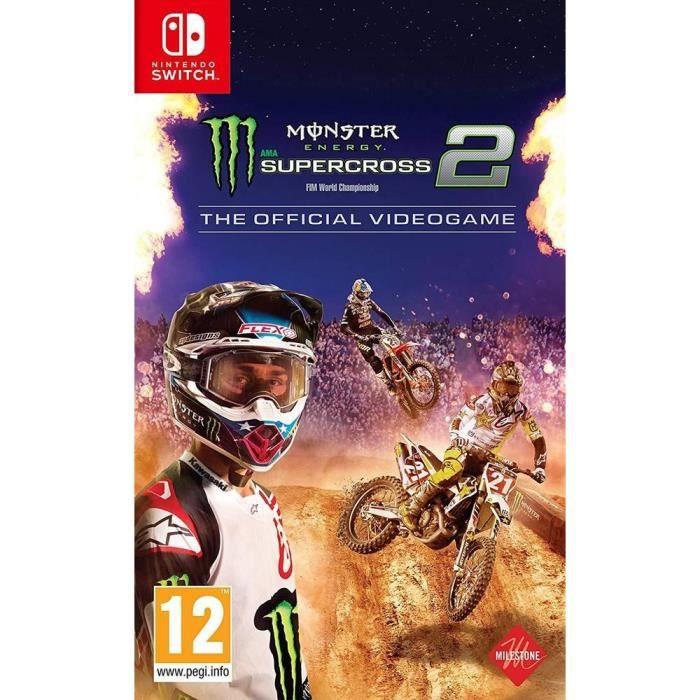 Monster Energy Supercross 2 Jeu Switch