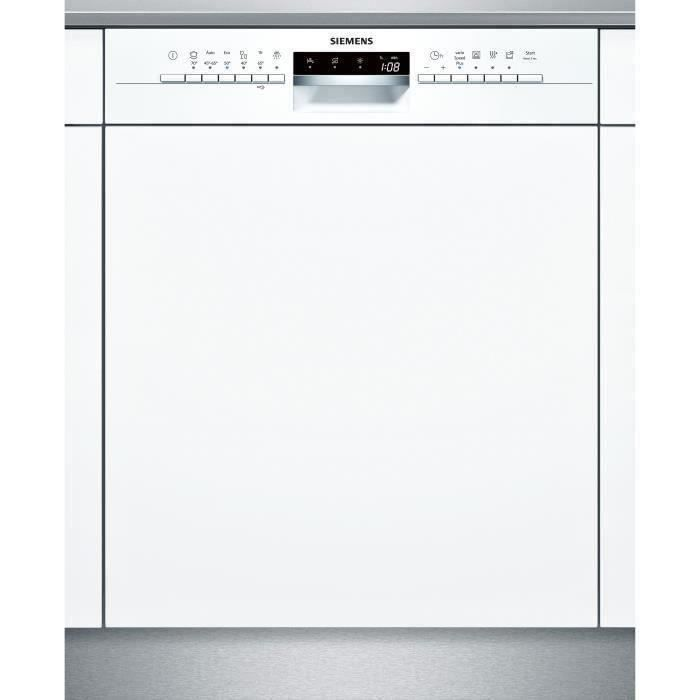 SIEMENS SN536W03NE Lave-vaisselle - 14 couverts - 44 dB - A++  - Large60cm - Blanc - Moteur iQd driv