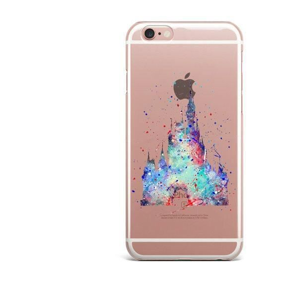 coque iphone 7 chateau disney