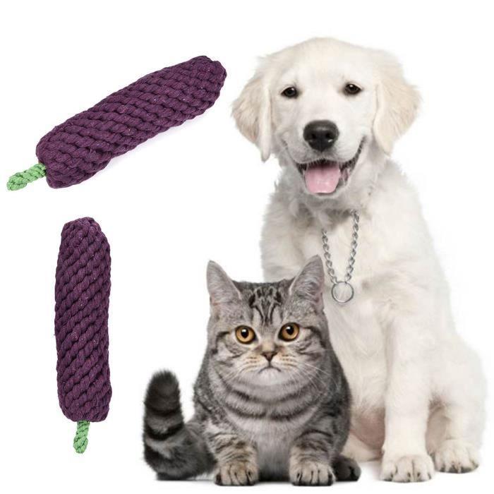 Deuxsuns®tressé Animal Toy Pet Chew Jouet Chiot Chien Clean Dents Outil De Formation@zf503