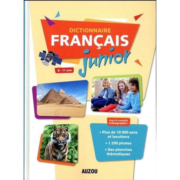DOCUMENTAIRE ENFANT Livre - dictionnaire de français junior grand form