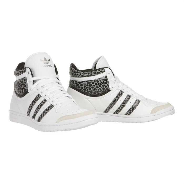 chaussures adidas montante femme blanche