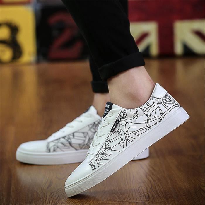 Sneakers Homme Durable Simple Beau Nouvelle Chaussure Haut qualité Mode Confortable Classique Sneaker Poids Léger Antidérapant 39-44
