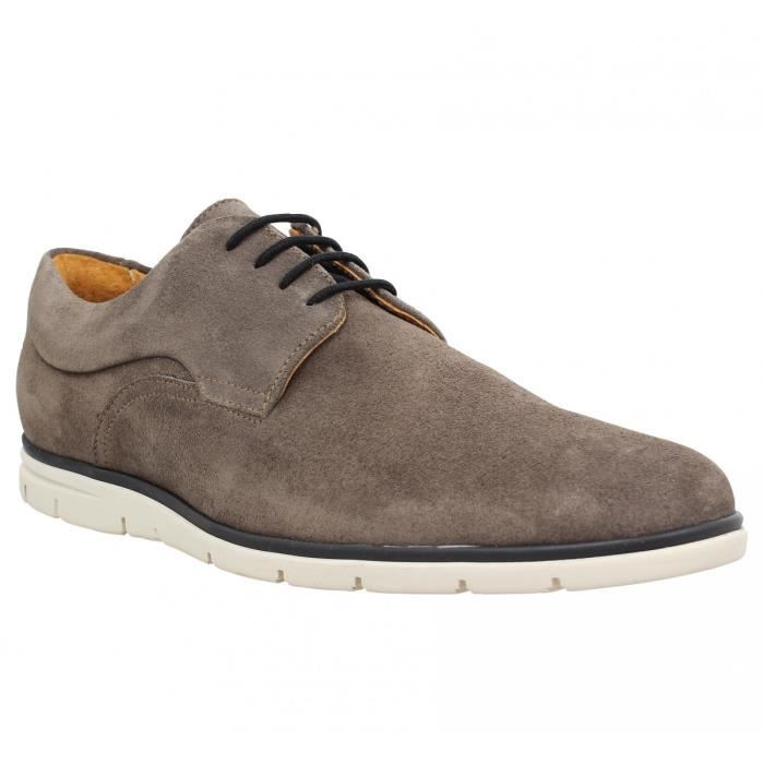 Chaussures à lacets SCHMOOVE Shaft Derby velours Homme-43-Moka c9uTTsAZ