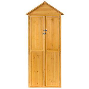 Abri en bois achat vente abri en bois pas cher cdiscount for Chalet rangement jardin
