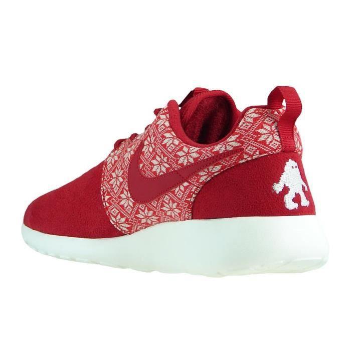 buy popular 7bf71 6ef84 NIKE Roshe One Winter Hommes Sneaker Rouge 807440 661 pBMCo