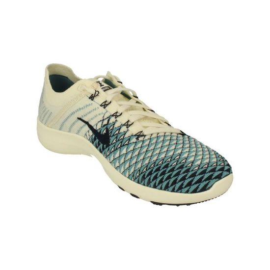 differently 461dc 5839a Nike Femmes Free Tr Flyknit 2 Indigo Running Trainers 904656 Sneakers  Chaussures 104 - Prix pas cher - Cdiscount