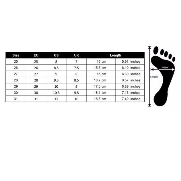LED Chaussures de Sport Chaussure Lumineuse Basket Pour Garçon Fille Enfant 30 Rose tEaQa5HRHh