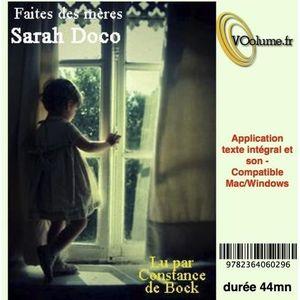 CARTE MÈRE Faites des mères. Texte et son, 1 CD audio