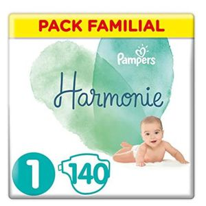 COUCHE Pampers - Harmonie - Couches Taille 1 (2-5 kg) - P